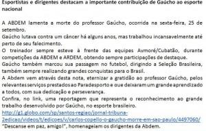 Homenagem ao Gaúcho